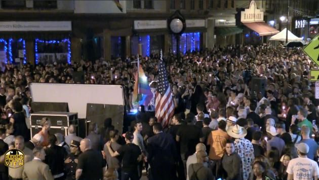 Jersey City-Orlando vigil