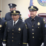 West New York police promote 5 officers at Town Hall ceremony