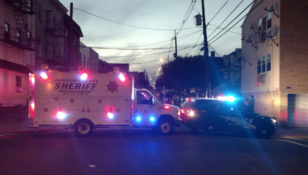 Sheriff guttenberg woman critical after being pinned for Hudson county motor vehicle