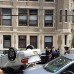 Police: Man caught with weed, bullets after flipping car in Hoboken