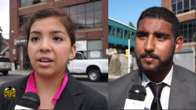 Kimberly Goycochea and Mussab Ali JCBOE candidates