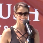 Shannon Elizabeth comes to Liberty State Park for World Elephant Day