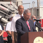 Menendez, Booker, Fulop announce $8.4M grant for Jersey City Fire Department