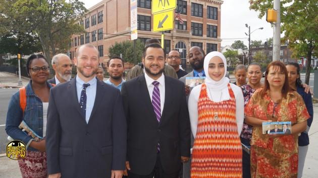 Jersey City United Matt Schapiro, Luis Fernandez, Asmaa Abdallah