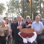 Sires, Suarez, Schillari remember 15th anniversary of 9/11 in North Bergen