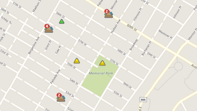 Photo via PSEG Outage Map.