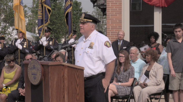 Jersey City Police Chief Philip Zacche.