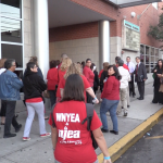 With no new contract, West New York teachers take over chaotic BOE meeting