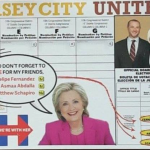 UPDATED: Super PAC pays for Jersey City United mailer where Clinton says 'vote for my friends'
