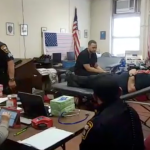 West New York PBA honors police detective's dad with 4th annual blood drive