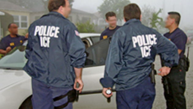 A file photo of U.S. Immigration and Customs Enforcement agents from ice.gov.