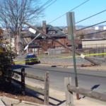 Power outages in midtown North Bergen after car takes out telephone pole