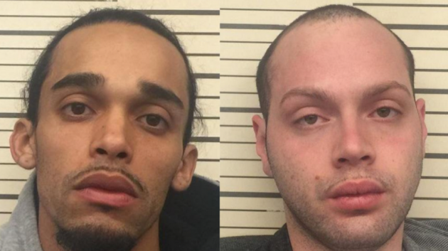 Anibal Rivera and Brandon Eckhardt. Photos via Port Authority police.