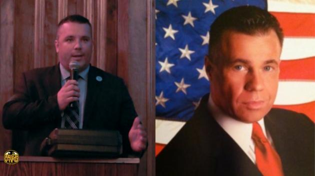 Guttenberg Councilman Wayne Zitt (left) and former West New York Police Director Al Bringa. Photos via Hudson County View, LinkedIn.