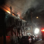 One North Hudson firefighter injured battling 3-alarm North Bergen blaze
