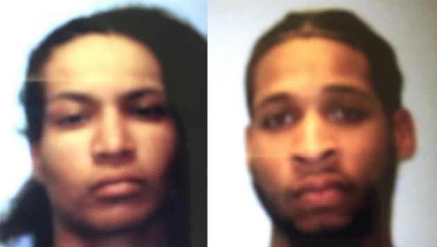 Priscilla Mendoza and Marquis McCay. Photos courtesy of Port Authority police.