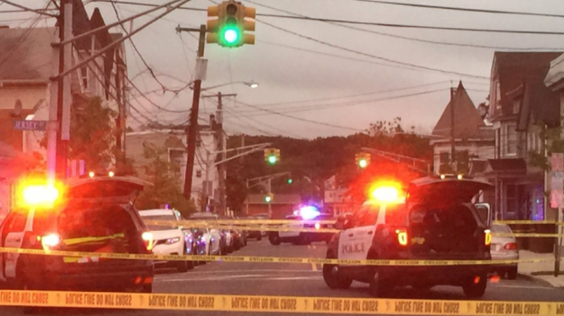 Harrison cop fires shots after being struck by suspect 39 s for Hudson county motor vehicle