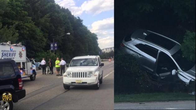 West New York crash
