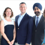 Hoboken mayoral hopeful Bhalla unveils council ticket of Doyle, Jabbour, Allen