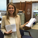 Rebecca Symes is first Jersey City Ward E council candidate to file petitions