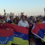 West New York shows solidarity for independence in Venezuela with vigil