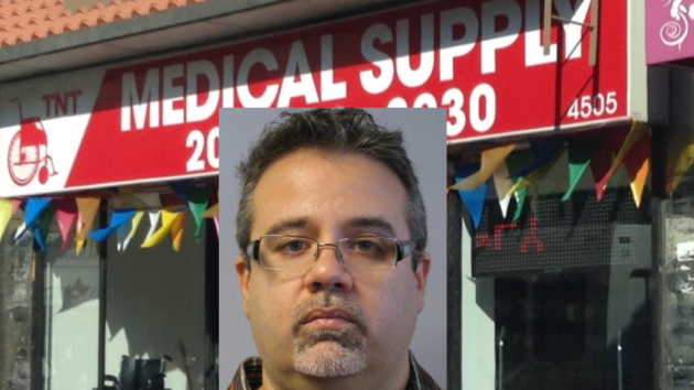 T-N-T Medical Supplies used to be located at 4911 Bergenline Avenue in West New York. Google Maps/Marc Gonzalez. Alfredo Valdes, Jr. photo courtesy of the NJ Attorney General's Office.