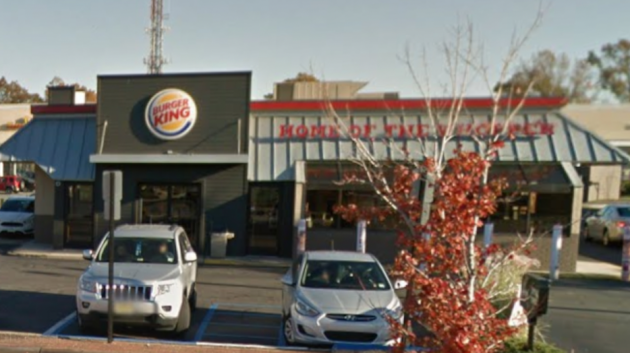 The Bayonne Burger King located at 1088 Broadway. Photo via Google Maps.