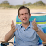 Fulop lampoons Christie's 4th of July beach fiasco in 1st TV campaign ad