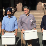 Hoboken Councilman-at-Large Bhalla's mayoral team files 2,796 petitions