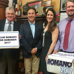 Hoboken Freeholder Romano's mayoral team submits over 3,000 petitions