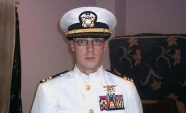 Greg Schaffer, pictured here posing as a Navy SEAL, has been convicted of recording the sexual assault of two minors. Photo via guardianofvalor.com.