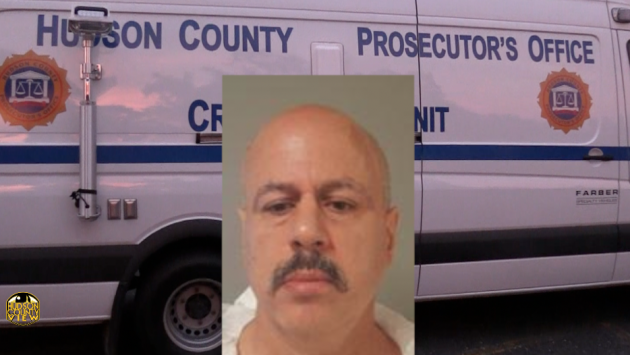 Jose Morel. Inset courtesy of Hudson County Prosecutor's Office.