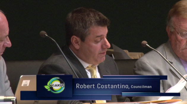 1st Ward Councilman Robert Constantino. Screenshot via Vimeo.