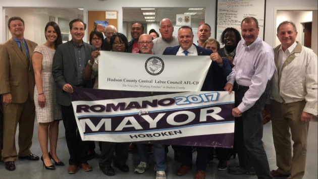 Photo courtesy of the Romano for mayor campaign.