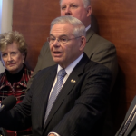 Menendez says 'political grave' comment was clear for intended targets