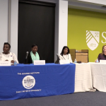 Women discuss surviving domestic violence at St. Peter's panel