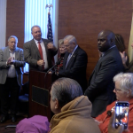 With trial over, Menendez joins North Hudson pols to push ACA enrollment