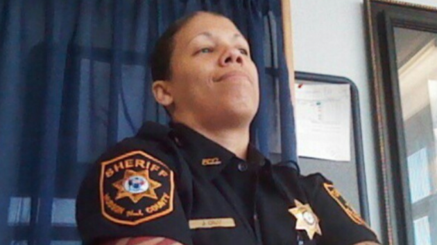 Hudson County Sheriff's Officer Jasmine Cruz is suing the county and two of her superiors for allegedly  discriminating against her for being a lesbian. Facebook photo.