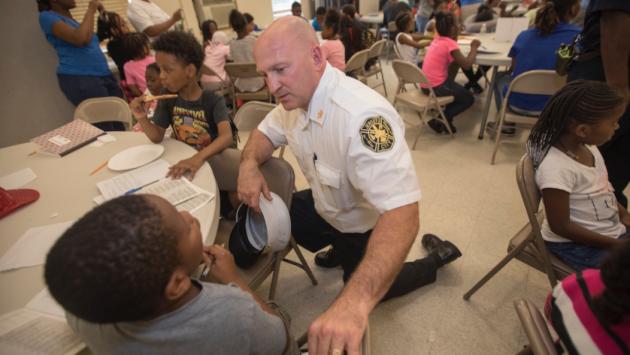 New Jersey City Fire Chief Steven McGill. Photo via cityofjerseycity.com.