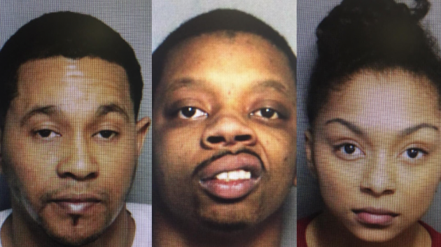 Iggal Copeland, Marquese Kine and Epiphany Alston. Photos courtesy of Port Authority police.