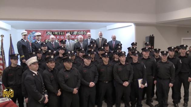 fde96ad6f21 North Hudson Regional Fire   Rescue swears in 37