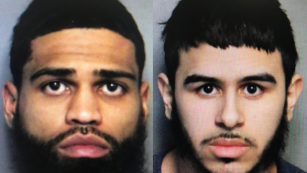 Angelo Ortega and Alexander Garcia. Photos courtesy of Port Authority police.
