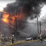 No injuries as North Hudson firefighters extinguish 5-alarm North Bergen blaze