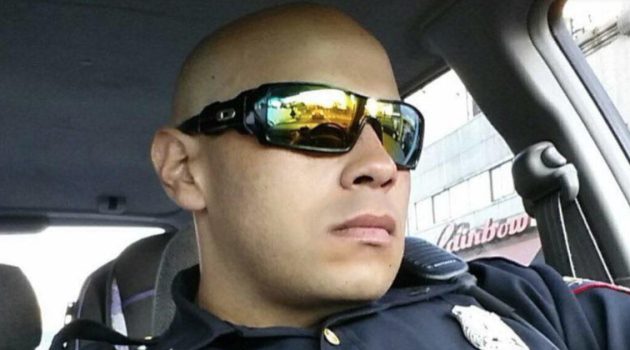 Jersey City Police Officer Ramon Torres. Facebook photo.