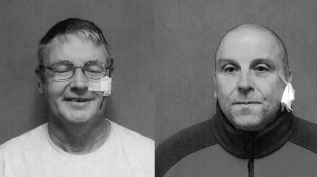 Aidan Murray and Yosef Wisniewski. Photos courtesy of Port Authority police.