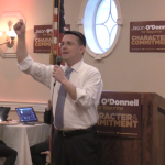 O'Donnell hits Davis on Bayonne tax breaks, out of town workers, at last major fundraiser