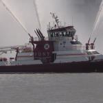 Inaugural 'Blessing of the Fleet' for NJ Regional Fire Boat Task Force held in Weehawken
