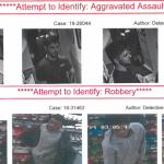 Hoboken police seeking public's help to identify assault, robbery suspects
