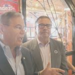 Maldonado hosts meet and greet for Menendez at The Factory in Jersey City