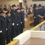 Bayonne police swears in 13 new officers, 4 who are transfers from sheriff's office
